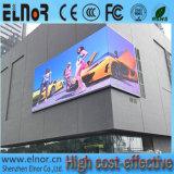 Pantalla impermeable al aire libre estándar de Europa P10 LED