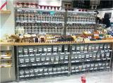 다기능 4개의 층 크롬 금속 와이어 상점 전시 선반