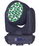 Luz principal movente do estágio do zoom do diodo emissor de luz 19*10W de Osram