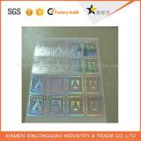 最上質の自己接着カスタム機密保護の反偽造3Dホログラムのステッカー