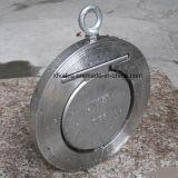 Válvula de retención de disco sola oblea