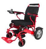 La cura anziana facile trasporta la sedia a rotelle pieghevole di potere