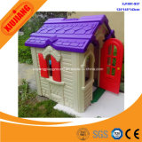 Kids School Game Center Plastic Small Play House avec toboggan
