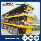 트럭 Trailer/40FT Container Flatbed Semi Trailer