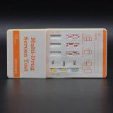 10 Panel-Urin-Droge-Prüfung BAD Karten-Installationssatz-Cup