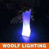 Im Freienled-Beleuchtung-Pflanzer, Garten-glühender Pflanzer, LED-Blumen-Potenziometer, im Freienbeleuchtung