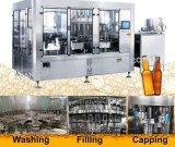 Ligne de machine de remplissage de bouteilles de l'eau de gaz