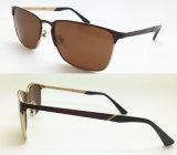 Metal polarizado marca de fábrica Eyewear del diseñador de la alta calidad para los hombres