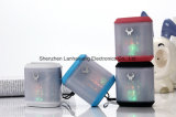 Altavoz portable de Bluetooth con la luz del LED (DS-713)