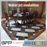 Het vierkante Natuurlijke Marmeren Mozaïek van de Straal van het Water van de Steen voor de Decoratie van het Hotel