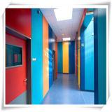 Revestimiento de madera barato hermoso y seguro de la pared interior