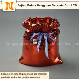 Гальванизируя Ceramic Big Bag Jar для Home Decoration