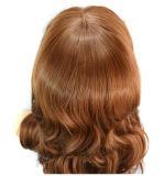 Peluca de Remy de la Virgen Quercy del pelo del cordón del pelo humano de la onda del cuerpo de la peluca del frente del cordón