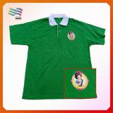 elezione della maglietta del poliestere del tessuto normale 120g per usato
