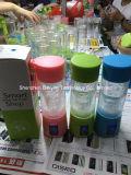 O mini copo portátil do suco frutifica extrator elétrico do Juicer pelo banco da potência do telefone móvel