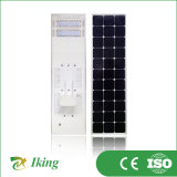 Integriertes Solar LED Street Light All in Ein 60W