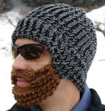 Ears及びMouth CoversのブランクCustom Knitted Warm Hat