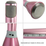 Microphone sans fil d'or initial K068 de Tuxun Bluetooth de microphone de haut-parleur de Tuxun K068 Bluetooth