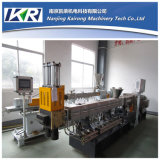 300kg/H PA6 Nylon + Vidro-fibra Plastic Compounding Twin Screw Pelletizing Line
