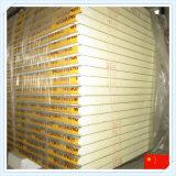 El panel de emparedado incombustible de la PU de la mejor calidad para la pared o la azotea