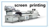 Stampatrice dello schermo del panno con uno per uno la stampa di colore