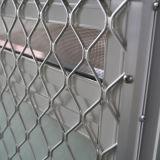Guichet en aluminium enduit d'Andoized Surfacement de la poudre Kz120 avec le réseau de Buglar d'acier inoxydable