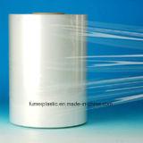 film di materia plastica impaccante trasparente del LDPE di 450mm su rullo