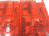 8 Schichten rote Soldermask Kreisläuf Schaltkarte-mit BGA