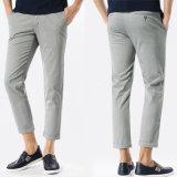 2016 pantalones de la tela del tipo de tela de algodón 100%Cotton del color de los hombres