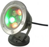 DC12V DC24V Underwater LED Light, 6 Watt Available in Green, in Blue und in White Light