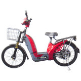 350With450wbrushless Motor Electric Bike com Basket e Pedal (EB-013D)