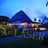 Освещение ландшафта цвета лазерного луча 2 ливня звезды рождества напольное
