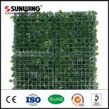 Изгородь дешевой загородки листьев PVC пластичной искусственная для украшения сада