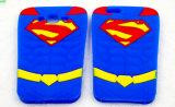 Caixa do telefone dos desenhos animados do silicone do superman para o iPhone Samsung LG Motorola Huawei (XSY-006)
