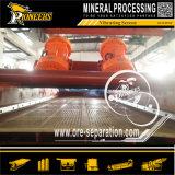 Mining Screening Areia Cascalho brita Circular tela de vibração