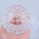 Держатель для свечи стойки свечки благосклонностей венчания кристаллический с самыми лучшими ценами