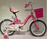 Girl 12インチの子供の自転車の王女の新しいモデルは自転車のアルミニウム縁/白いタイヤの自転車をからかう