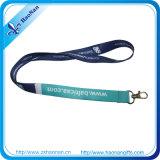 Promoción de la cuerda de seguridad colorido regalo personalizado Heat Transfer Impreso Cordones