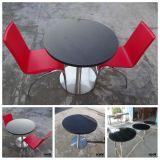 黒い家具の正方形の人工的な石造りのコーヒーテーブル