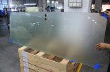 Porta do banheiro do vidro geado com En12150 e certificados de AS/NZS 2208