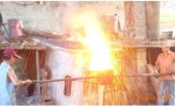 3t Medium Frequency Induction Melting Furnace pour Steel/Iron