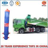 Cilindro hidráulico telescópico de vários estágios para o cilindro do caminhão de descarga da mineração
