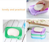 Eco-friendly Homehold Practical Silicone Drain Soapbox