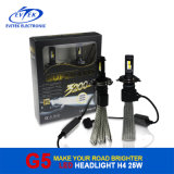 2016 Fanless 새로운 25W 3200lm LED 헤드라이트 H4 9004 9007 H13 차 헤드라이트, LED 헤드라이트 전구