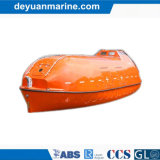 완전히 Enclosed FRP Lifeboat 또는 Rescue Boat
