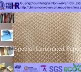 Papier d'emballage métallique de fantaisie différent/papier d'art/papier enduit (numéro KY010)