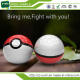 L'éclairage 12000mAh Pokemon de DEL vont chargeur de côté de pouvoir de port USB de double de bille de magie de la bille II