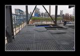 Plataforma 25 * 5 reja de acero