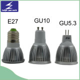 projecteur de 3*1W E27 GU10 DEL