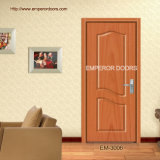 Hölzerne Tür-Doppelt-hölzerne Haupttür gemalte hölzerne Tür